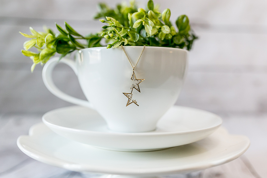 Breathe-Love-Jewelry-Gold-CZ-Star-Necklace